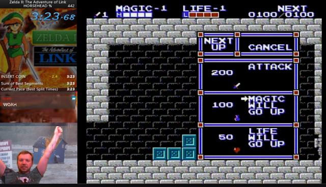 TravWhite Zelda II Speedrun