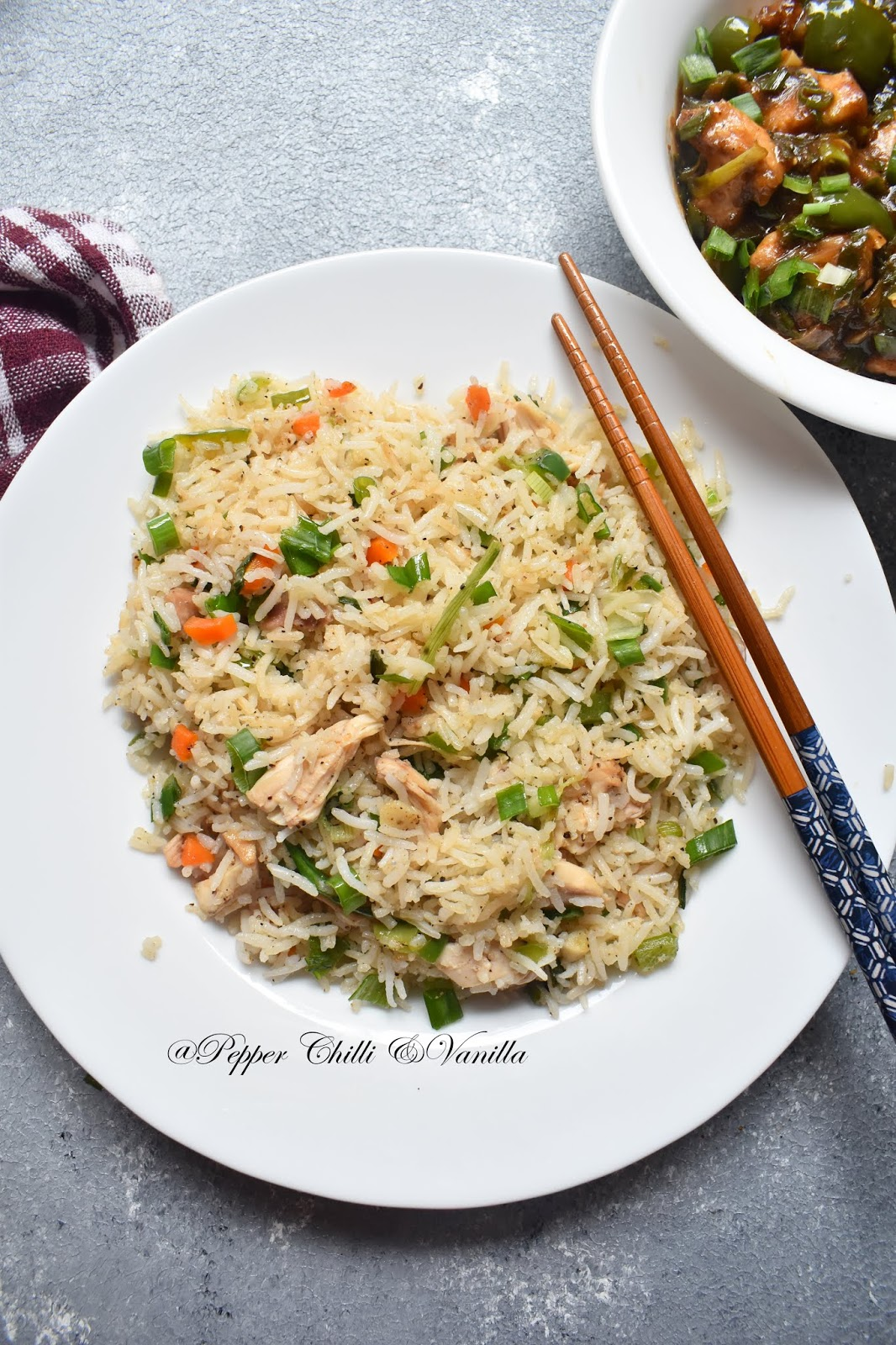 restaurant style fried rice recipe