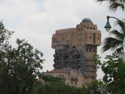 Twilight Zone Tower of Terror California Adventure Hollywood Tower Hotel