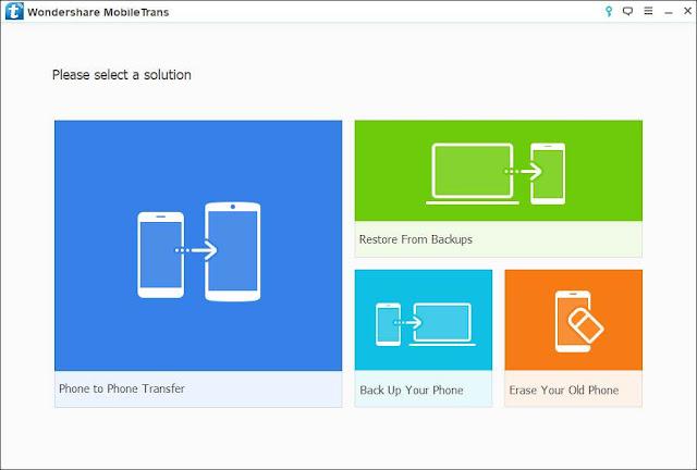 Screenshot Wondershare MobileTrans 8.1.0.640 Full Version