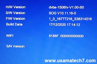 1506tv New Software 2020 Download - 1506tv SOG Software