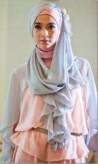 Contoh Kreasi Jilbab Trendy