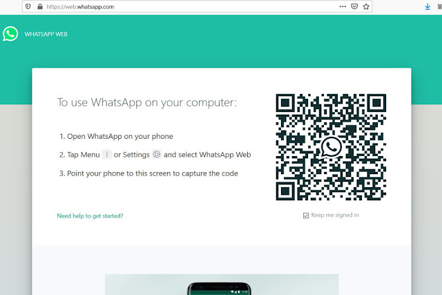 WhatsApp Web on your browser
