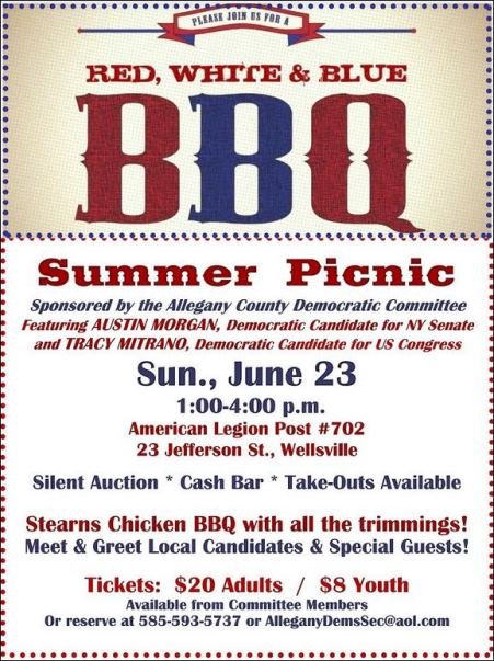 6-23 Red. White & Blue BBQ