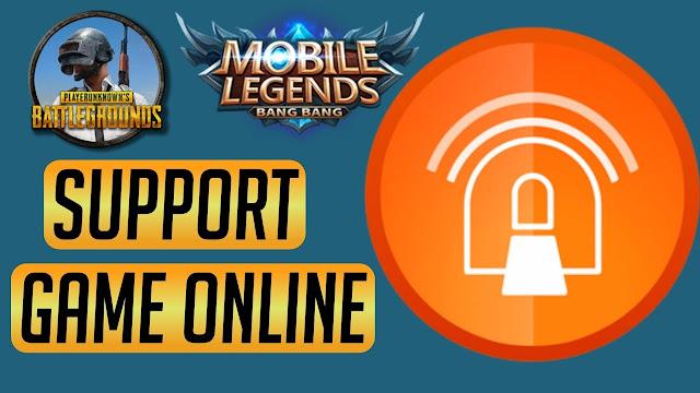 Cara Bermain Game Mobile Legend Menggunakan AnonyTun VPN