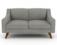 non-toxic flame retardant free couch sofa