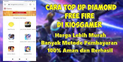 Cara  Top Up Diamond Free Fire Di Kiosgamer