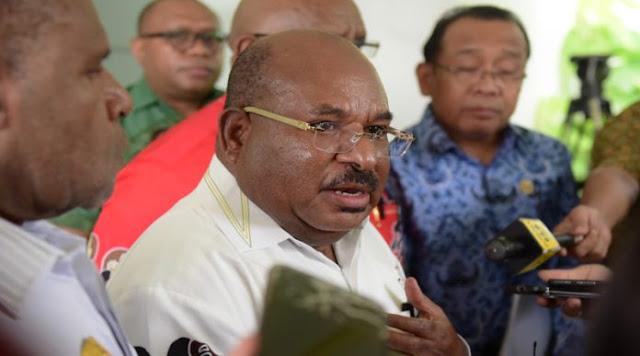 Gubernur Papua Pertanyakan Pertemuan 61 Orang Papua dengan Jokowi di Istana