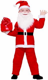 Boys Simply Santa Costume