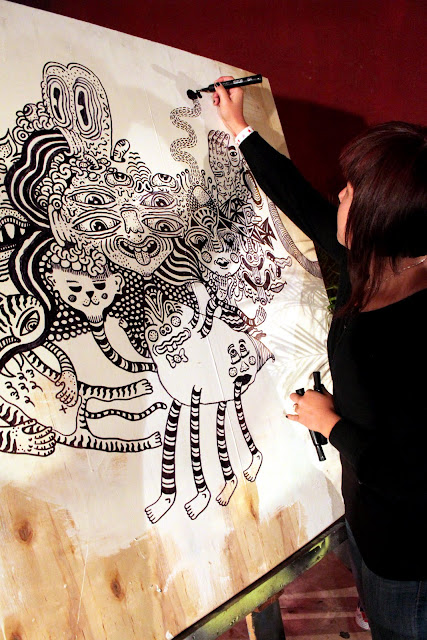 """Ann """"A'misa"""" Chiu would doodle all over the city if she could. And she does."""