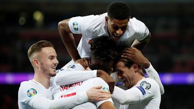 Video Cuplikan Gol: Kosovo 0-4 Inggris (Kualifikasi Euro 2020)