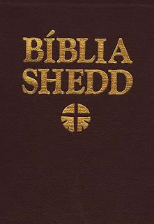 Bíblia Shedd. Couro Sintético Vinho (Português)