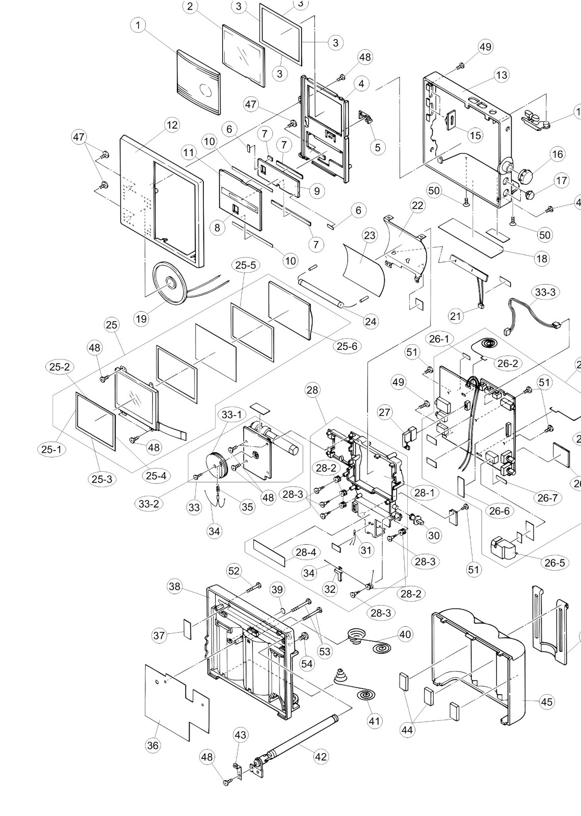 Master Electronics Repair    Casio Ev-2500b Kx618