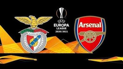 مشاهدة مباراة ارسنال ضد بنفيكا 18-2-2021 بث مباشر في الدوري الاوروبي