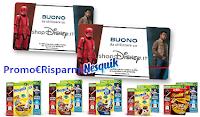 Logo Cereali Nesquik e Lion Star Wars : vinci 500 Gift Card Disney Store da 50€