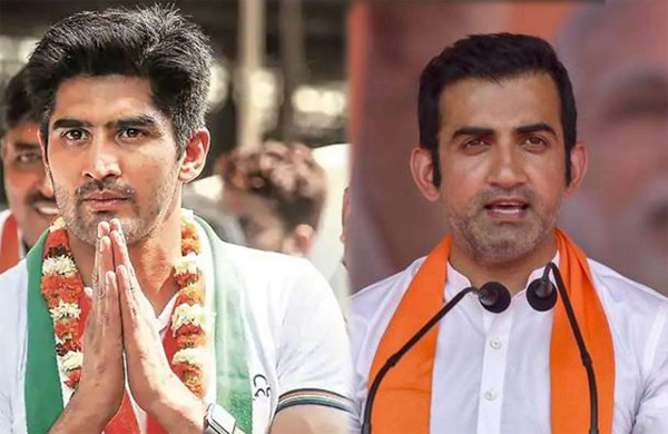 BJP, National, News, Gautham Gambhir, Sports, Minister, New Delhi, Election, Congress, Lok Sabha, gambhir and rathod won by by bjp ticket