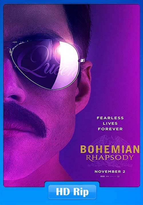 Bohemian Rhapsody 2018 720p WEBRip x264   480p 300MB   100MB HEVC Poster