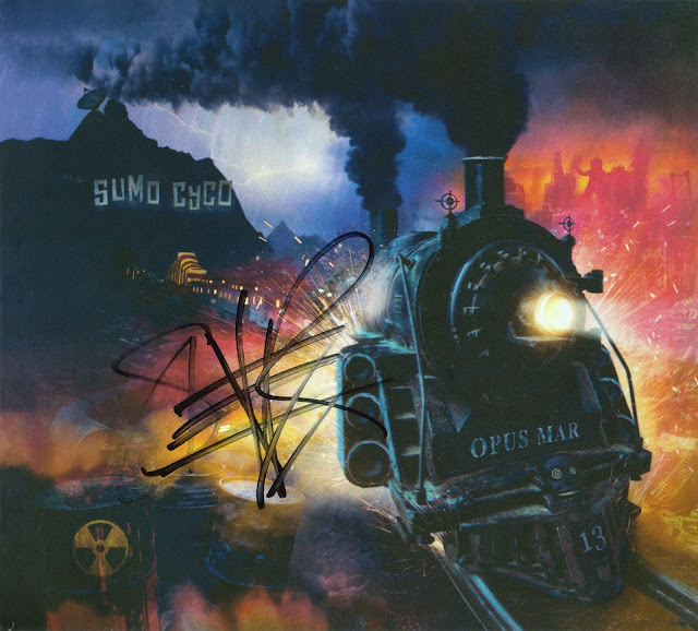 Sumo Cyco - Opus Mar Signed CD cover