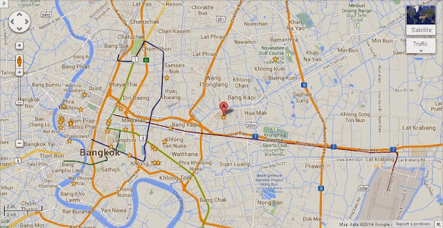 Rajamangala National Stadium Bangkok Location Map,Location Map of Rajamangala National Stadium Bangkok,Rajamangala National Stadium Bangkok accommodation destinations attractions hotels map reviews photos pictures,rajamangala stadium tickets how to get there seat plan parking events huamark map