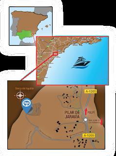Mapa sacado de la web oficial de la Geoda de Pulpí.