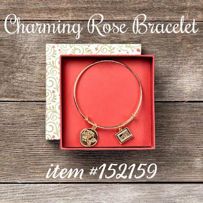 Charming Rose Bracelet - Stampin' Up!'s Christmastime is Here Medley - item #152159