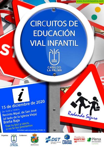 NAVIDAD BREÑA BAJA: Circuito de educación vial infantil