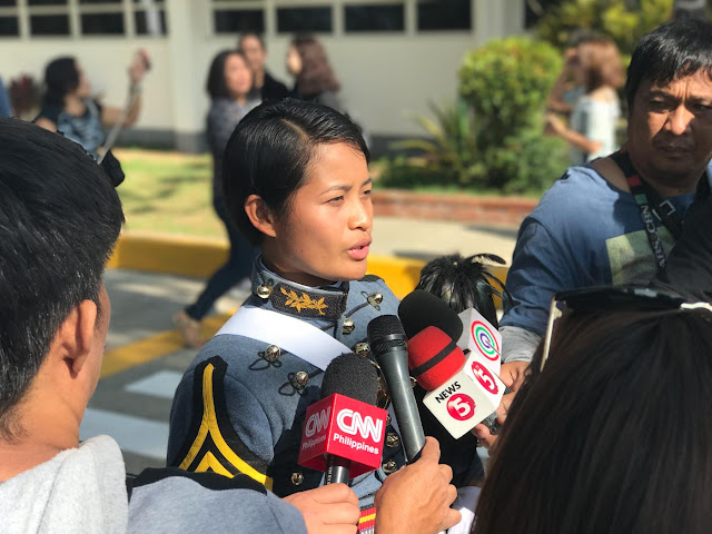 Former Housemaid Graduated In PMA, Joins Navy.