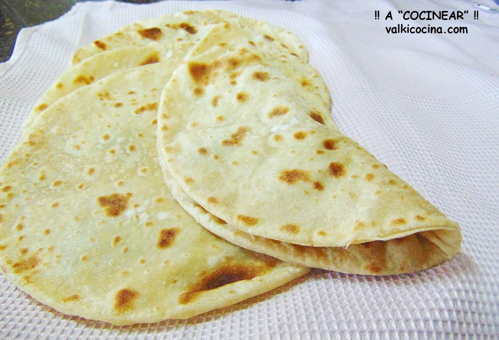 Tortillas De Trigo Rápidas Y Fáciles ( 3 Ingredientes )