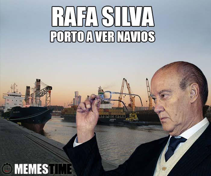 Memes Time Pinto da Costa sobre a trsnferencia de Rafa Silva opara o Benfica – A ver navios