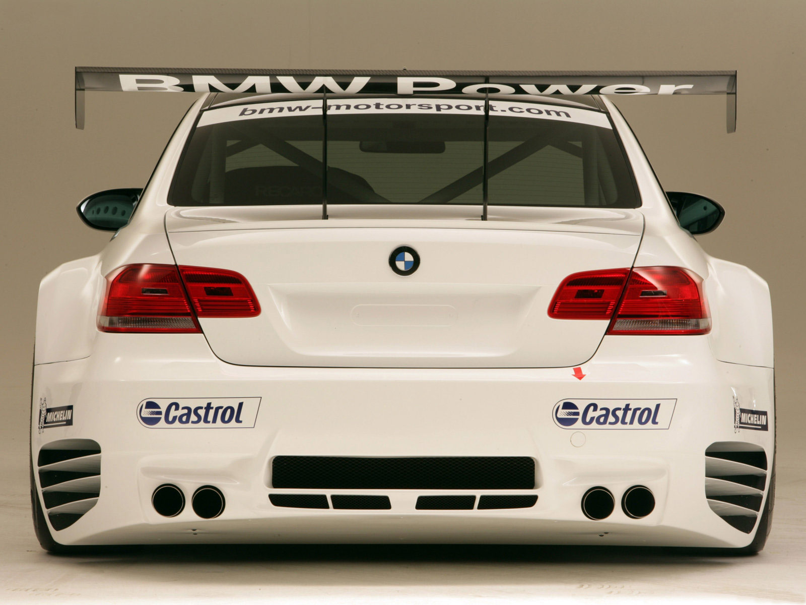 BMW M GTR Race Car
