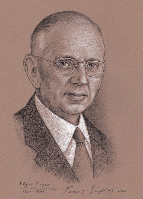 Edgar Cayce. The Sleeping Prophet. Clairvoyant. Faith Healer and Psychic. by Travis Simpkins