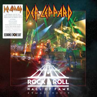 Def Leppard - Rock And Roll Hall Of Fame - 29 March 2019