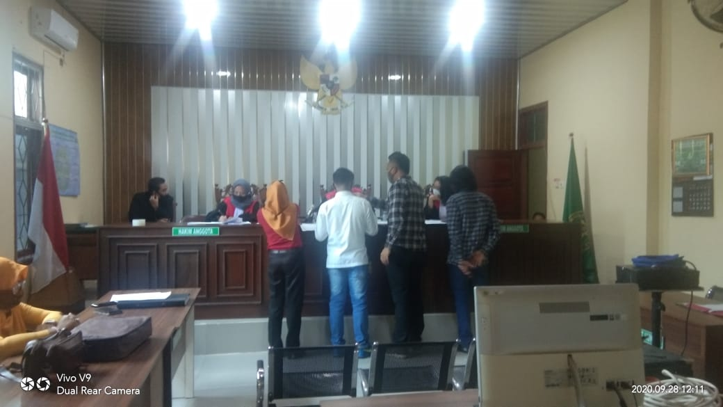 Dua Kali Sidang, Pihak PT. CLP Tak Bisa Hadirkan Saksi