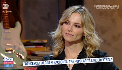 Francesca Fialdini Oggi è un altro giorno 8 gennaio