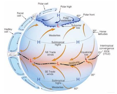 Model sirkulasi atmosfer 3 Sel