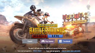 pubg lite | lower end devices | 400MB