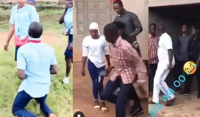 Father reportedly gets police to arrest viral SS3 student who proposed to his daughter after WAEC exam