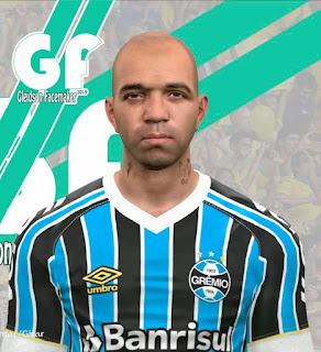 PES 2017 Faces Diego Tardelli by Gleidson