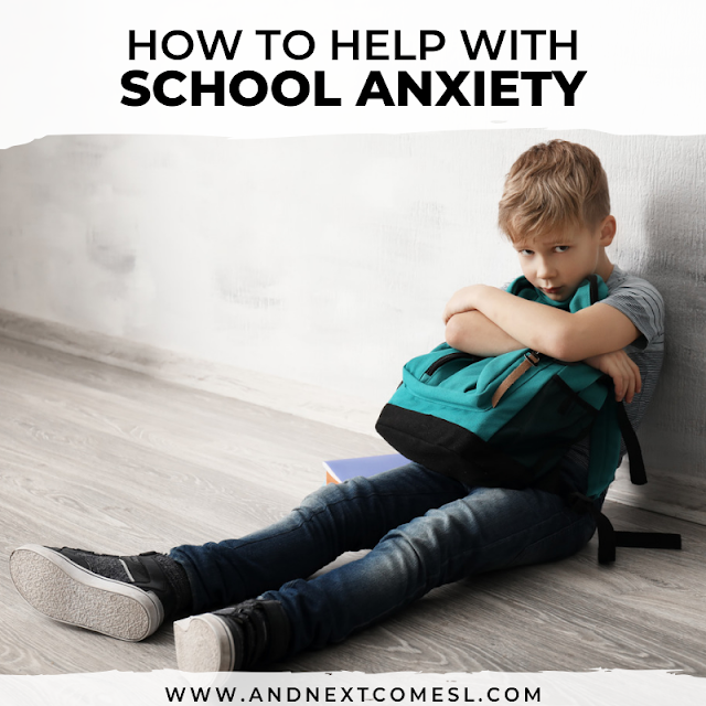 Tips for helping with back to school worries