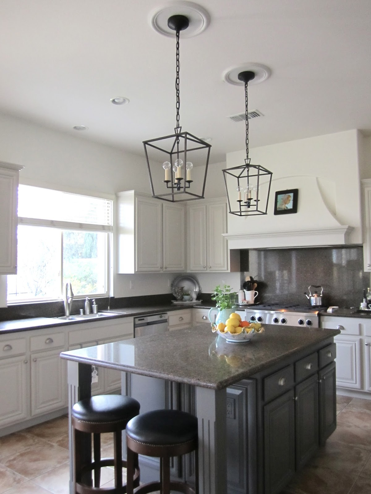 kitchen island lanterns coffee rugs a phased decorating approach classic casual home