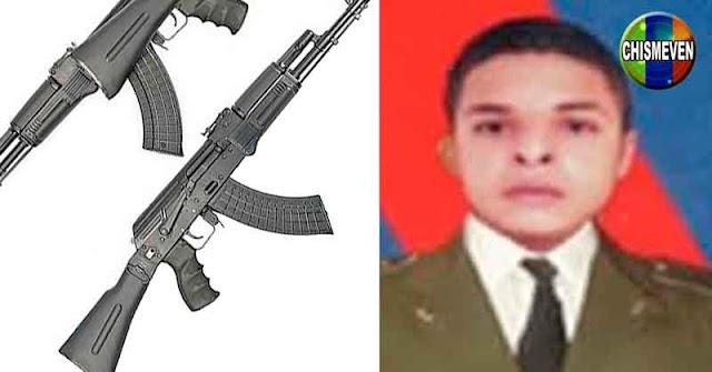 Encontraron muerto al sargento que se escapó con dos fusiles AK-103