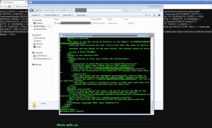'Tox' Offers Free build-your-own Ransomware Malware Toolkit