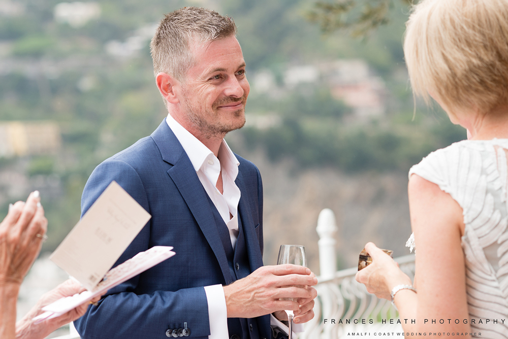 Groom in Positano