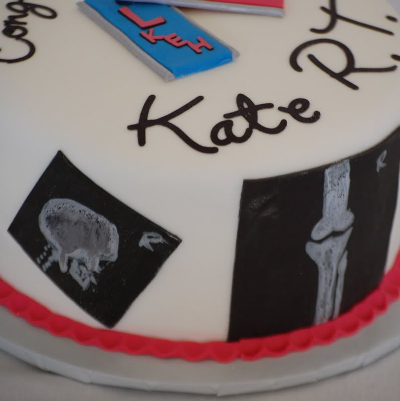 Cakefilley Radiology Technician Graduation Cake