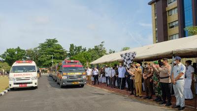 Operasi Ketupat Lancang Kuning 2021, Irjen Agung : Kerahkan 1200 Personel Pengamanan Dan 1006 Personel Bhabinkamtibmas Di Posko PPKM