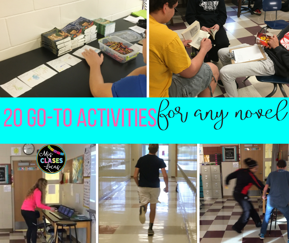 20 Go-To Activities for any novel