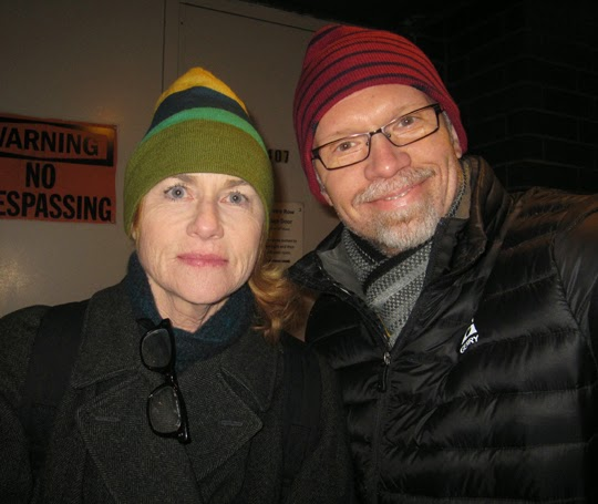 how did ed harris and amy madigan meet
