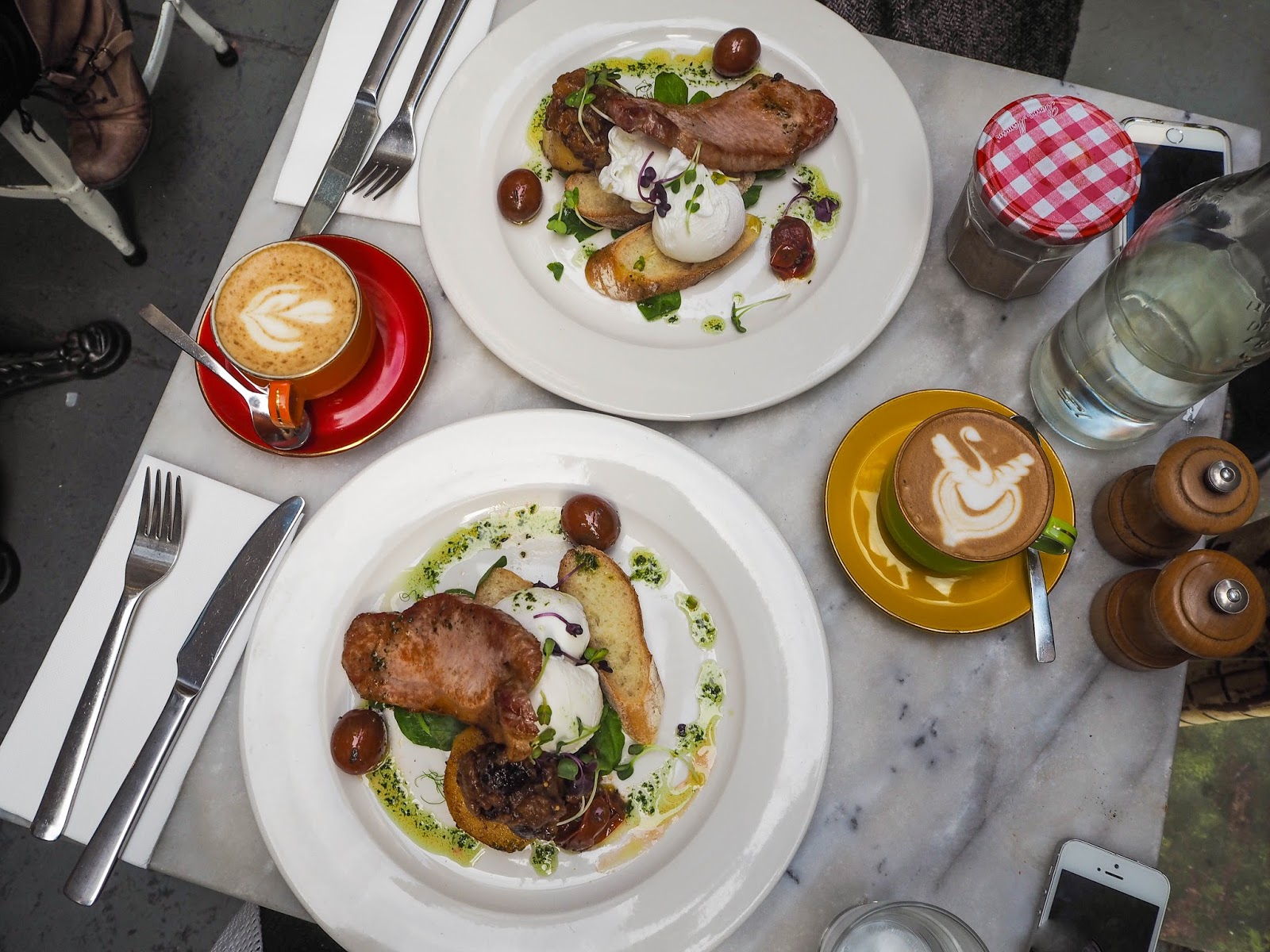 Brunch at Hardware Societe, Melbourne