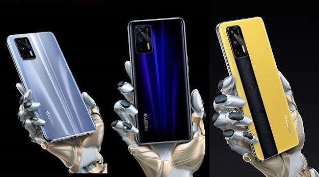 مواصفات وسعر Realme GT 5G الداعم لتقنية الفايف جي