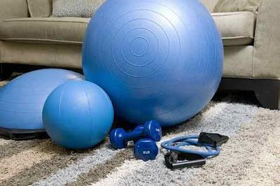 برنامج تمارين رياضية في المنزل
